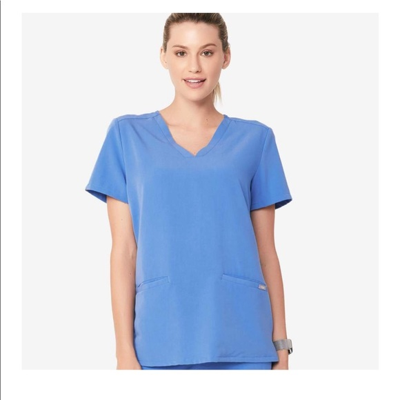 Figs Other - FIGS XS Ceil Blue scrub top